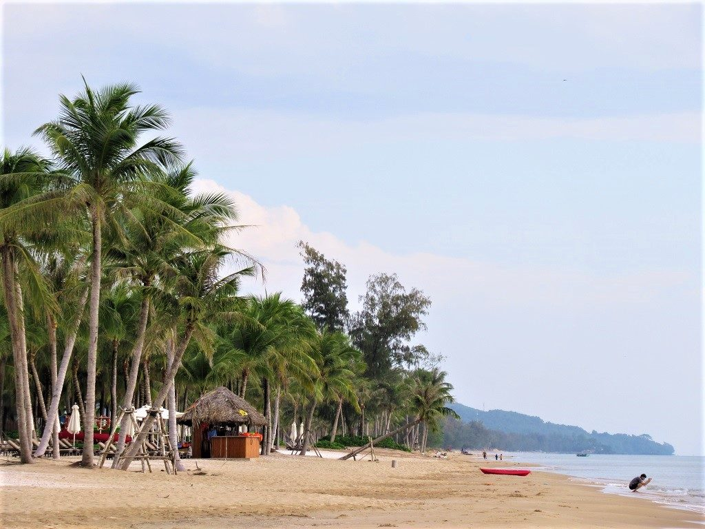 Central section of Long Beach, Phu Quoc Island, Vietnam
