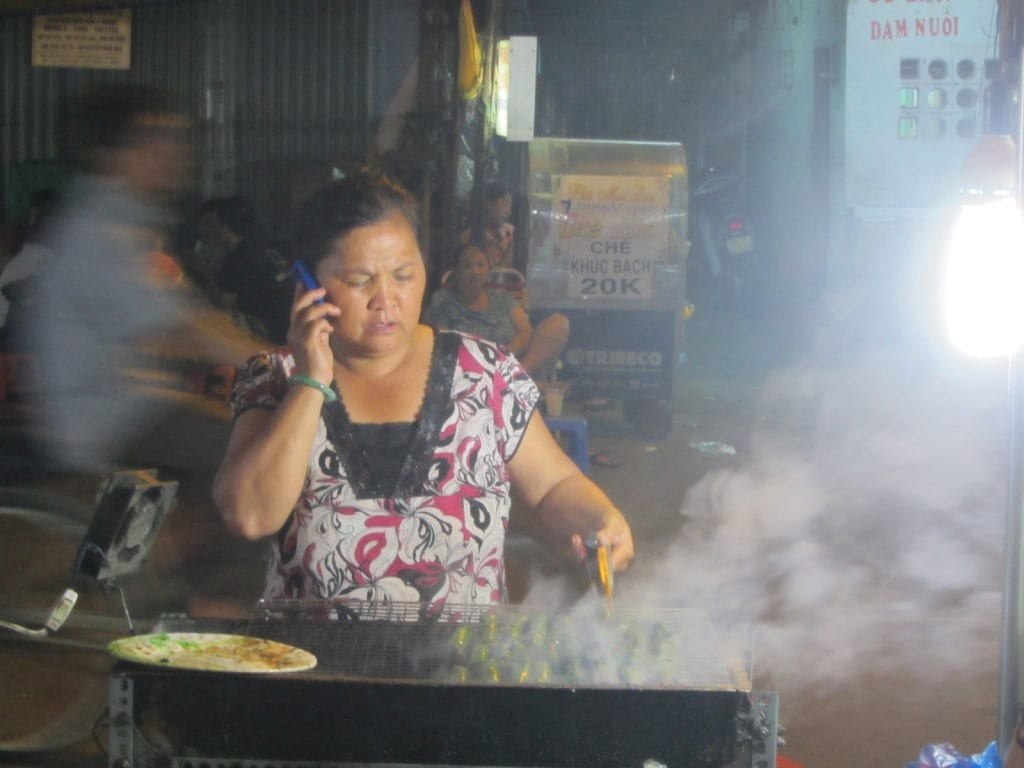 Street food vendor, Saigon