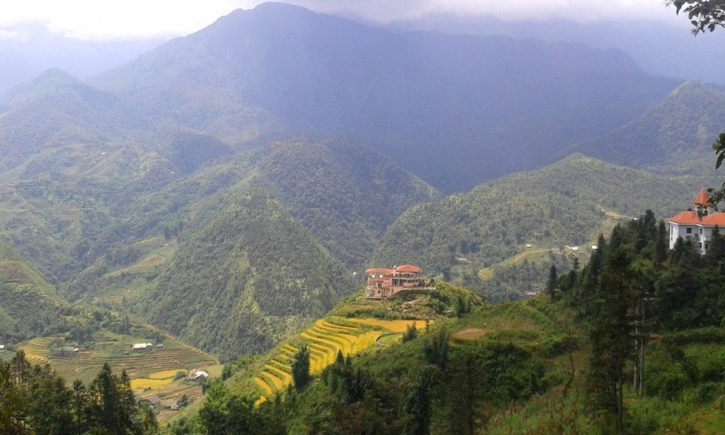 View from most Sapa hotels