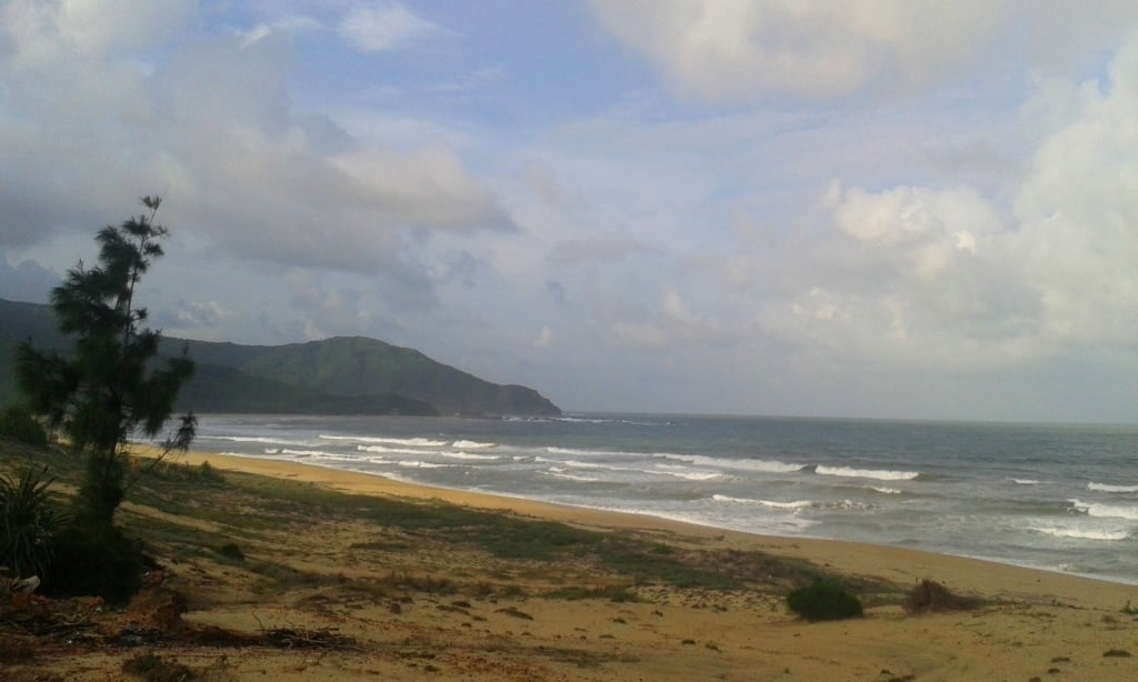 Beach north of Quy Nhon