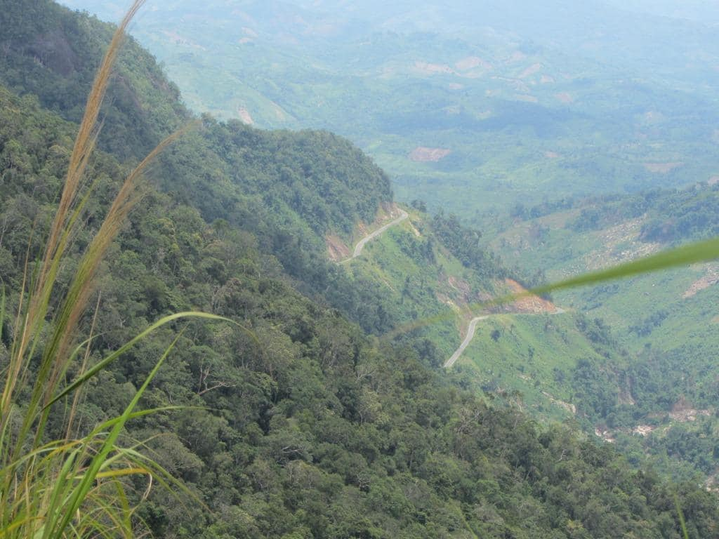 The mountain pass from Dalat to Nha Trang