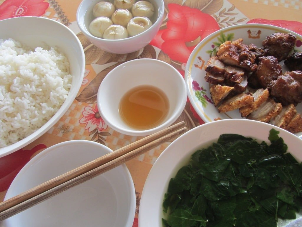 Excellent food in Tuan Giao