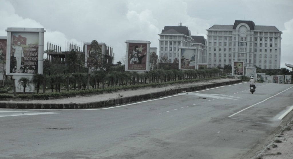 Government buildings in Lai Chau