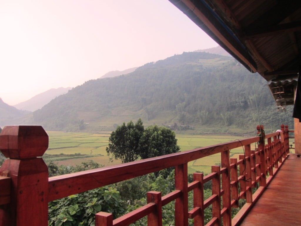 My homestay in Mu Cang Chai