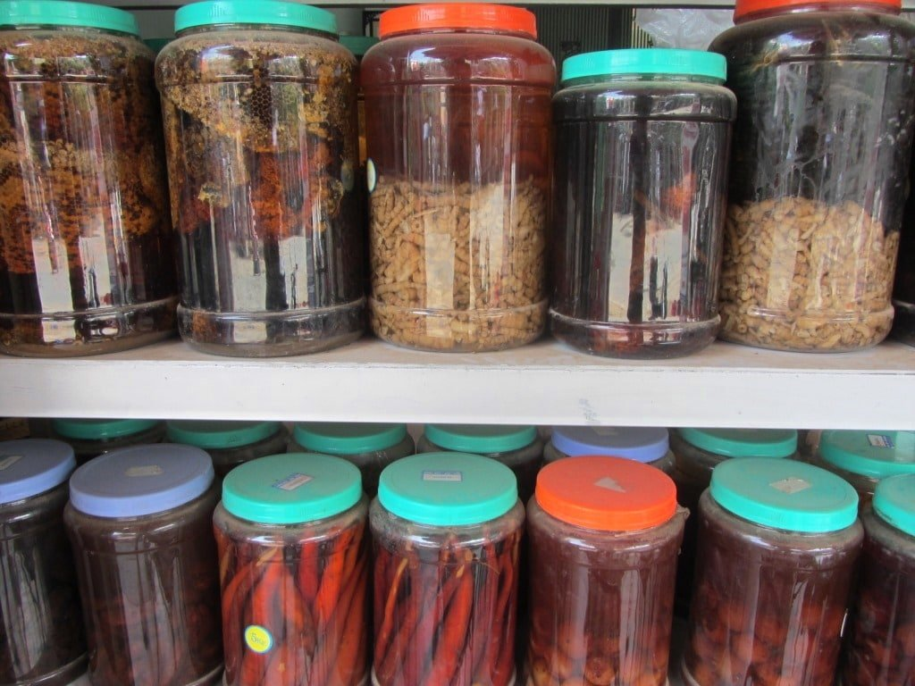 Local specialities for sale in Pho Rang