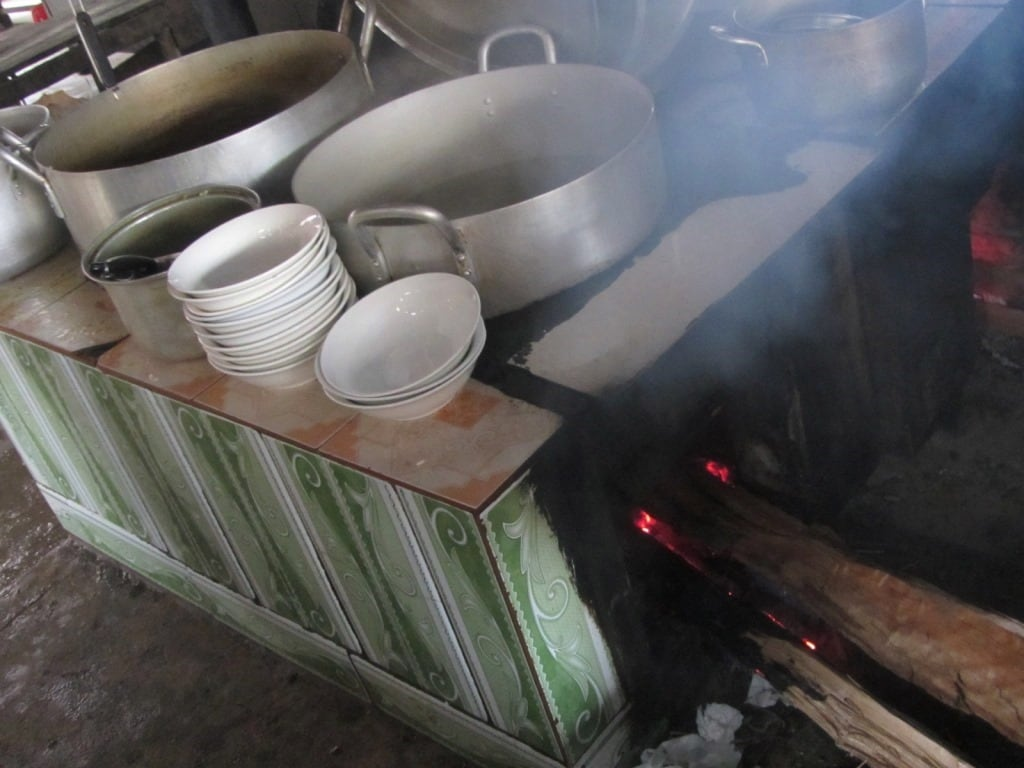 Wood fuel for cooking