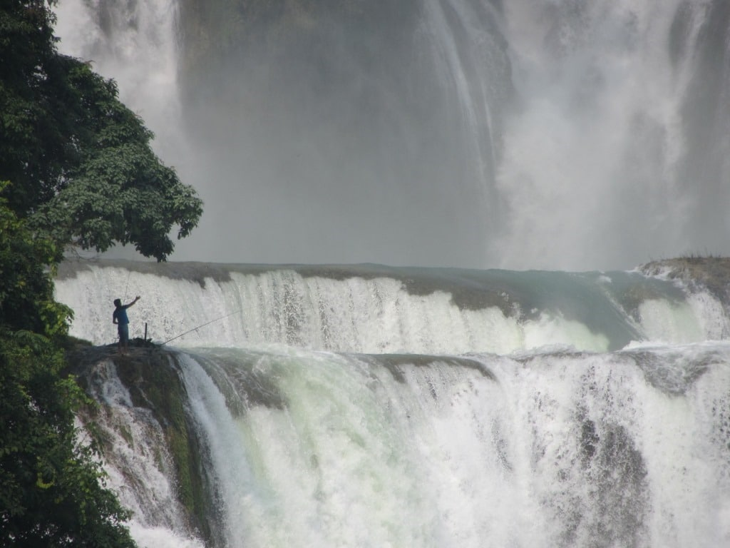 Ban Gioc Waterfall, Vietnam's largest