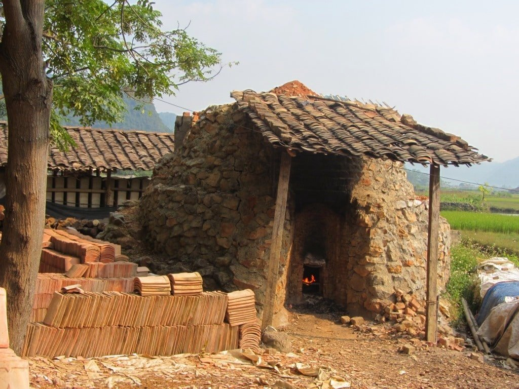 Brick ovens in Bac Son