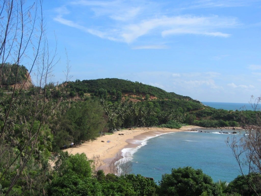 Beach south of Quy Nhon