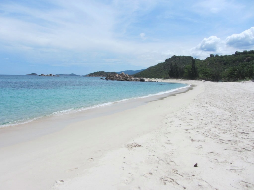 Beaches near Cam Ranh Bay