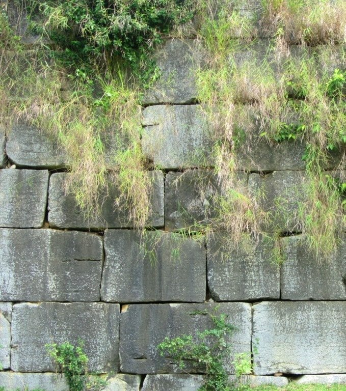 Fortified: bricks of the inner citadel wall