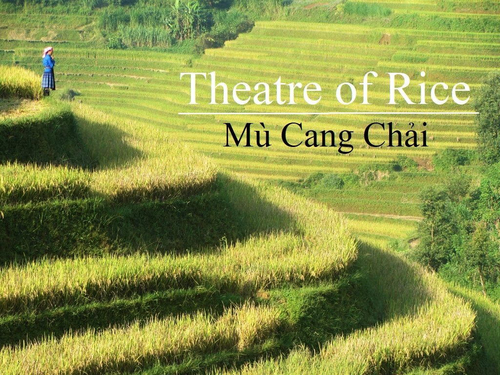 The Rice Terraces of Mu Cang Chai, Yen Bai, Vietnam