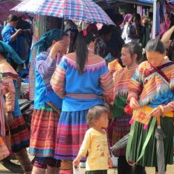 Bac Ha Sunday Market, Vietnam