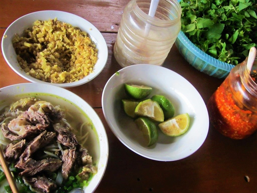 Lunch in Hoang Su Phi, Ha Giang Province, Vietnam