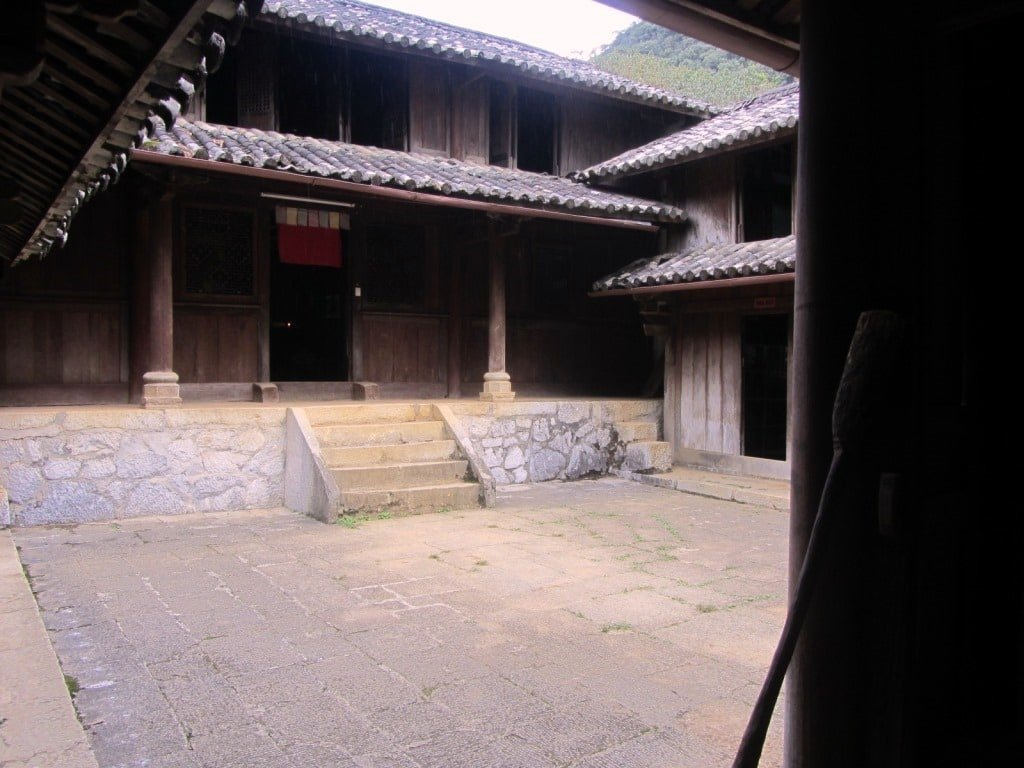 Courtyard, H'mong King's palace
