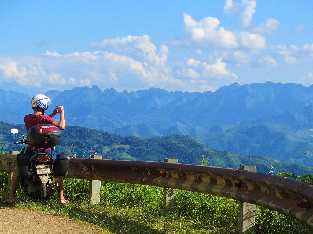 The road from Meo Vac to Bao Lac, Ha Giang, Vietnam