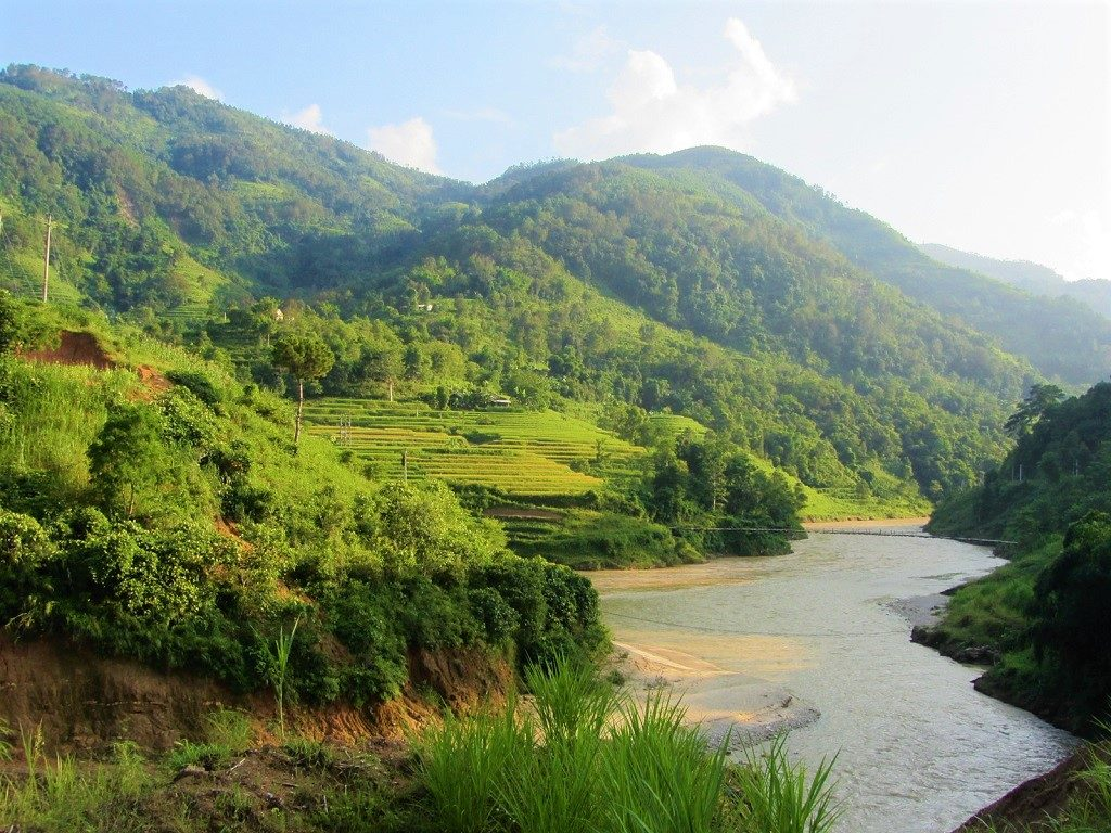 The Chay River Valley, Ha Giang Province, Vietnam