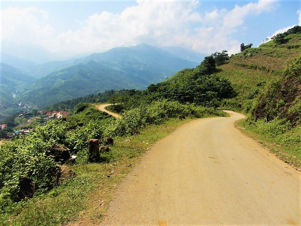 The road to Xin Man, northern Vietnam