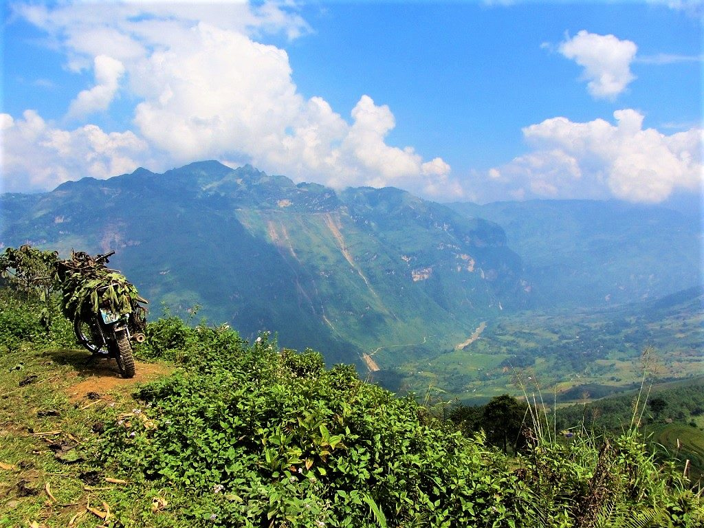 Motorbiking the Vietnam-China border, Lao Cai Province, Vietnam