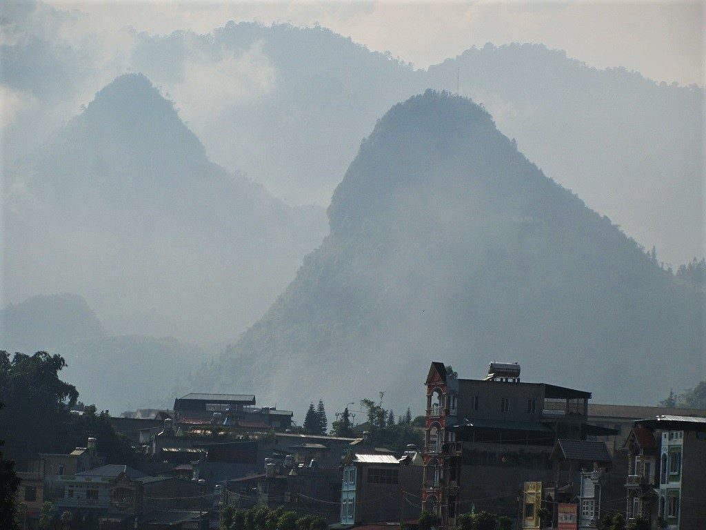 Muong Khuong town, Lao Cai Province, northern Vietnam