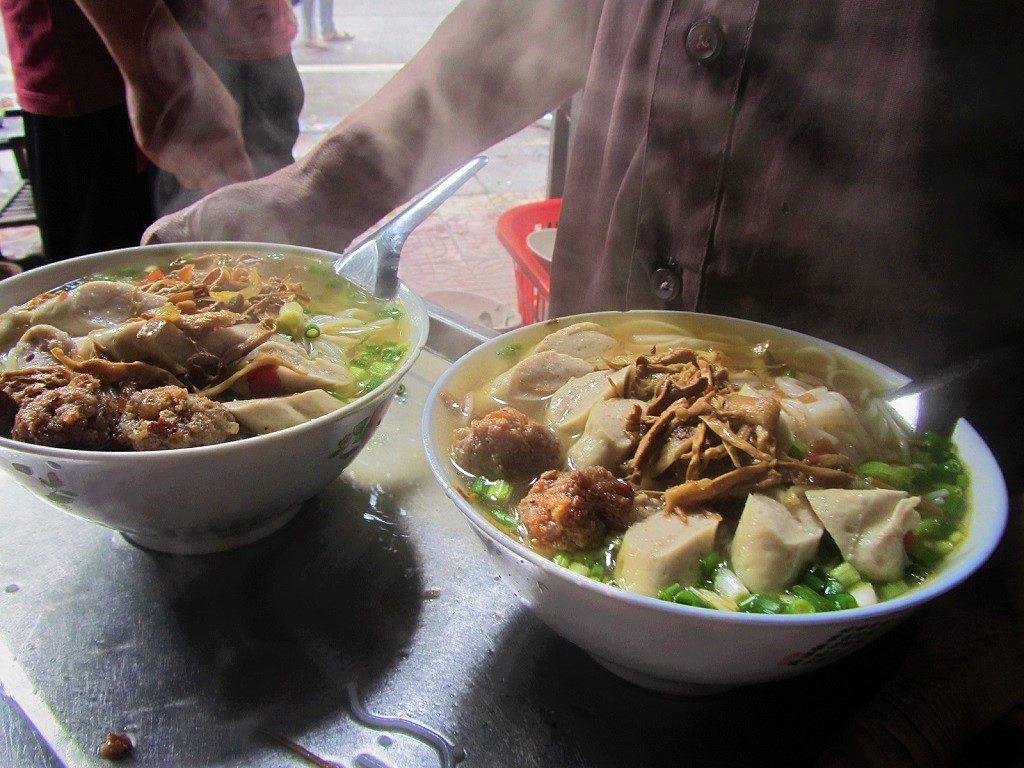 Noodle soup, Cao Bang Province, Vietnam