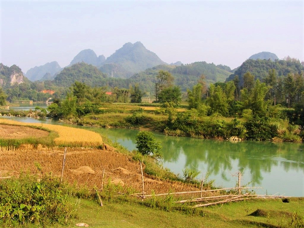 Quay Son River Valley, Cao Bang Province, Vietnam