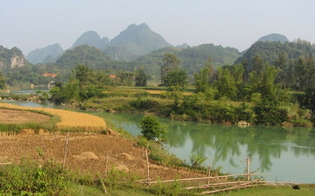 Quay Son River Valley, Cao Bang Province