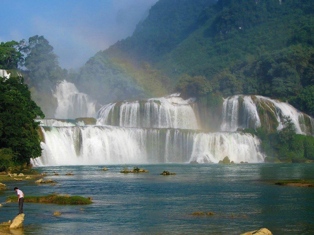 Ban Gioc Waterfall, Cao Bang Province, Vietnam