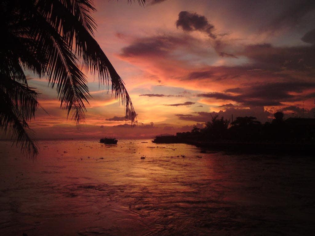 Sunrise over the Gulf of Thailand, Phu Quoc Island