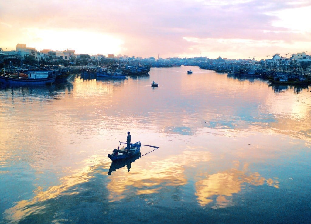 Dawn on the Ca Ty River, Phan Thiet