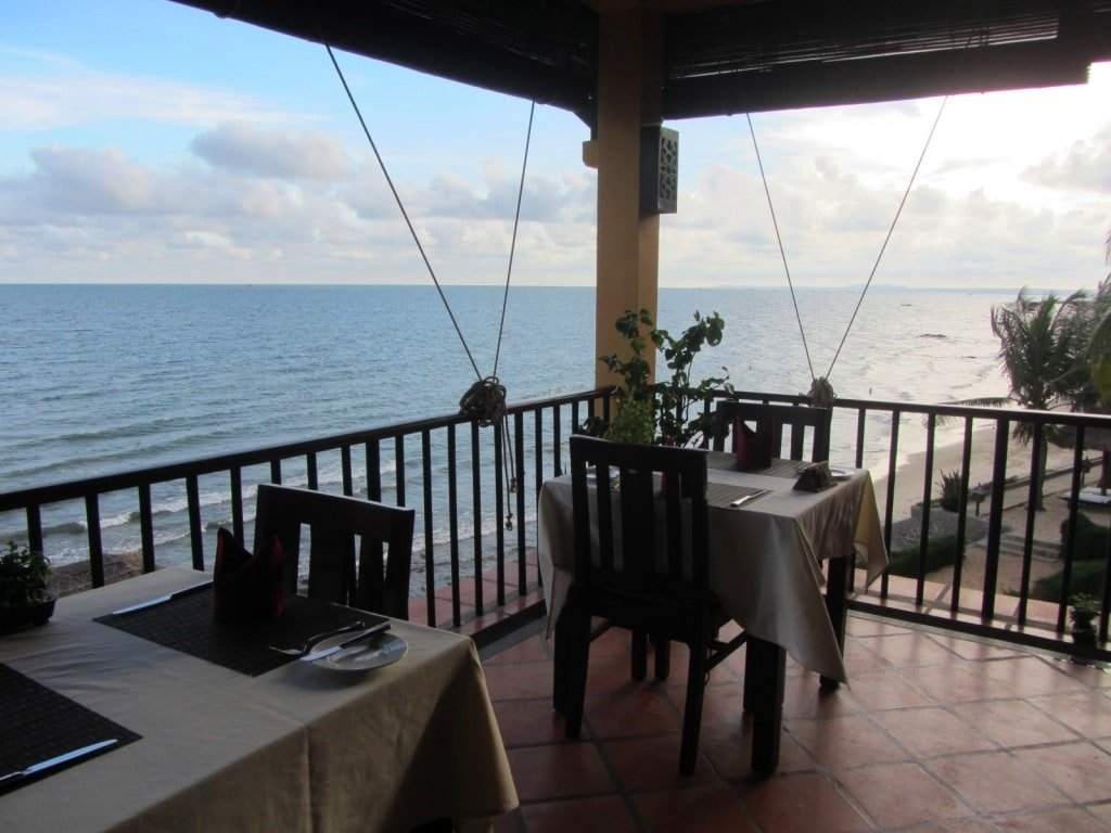 The restaurant at Victoria Resort Phan Thiet