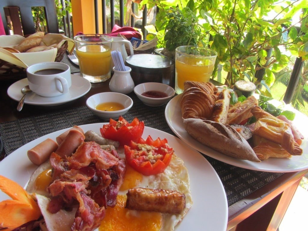 Breakfast at the Victoria Resort Phan Thiet