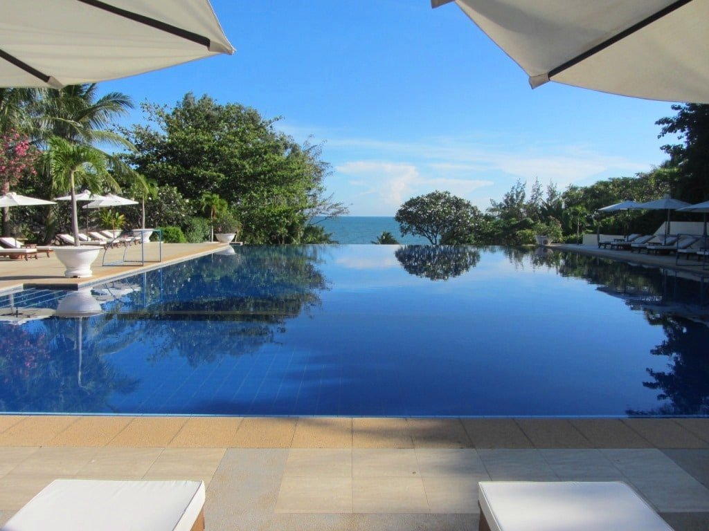 Infinity pool, Victoria Resort Phan Thiet