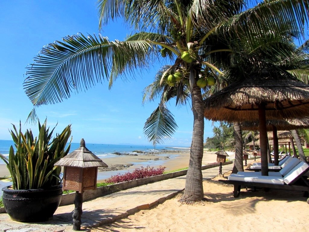 The beachfront, Victoria Phan Thiet Resort