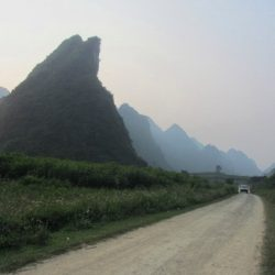 The Northeast Motorbike Loop, Vietnam