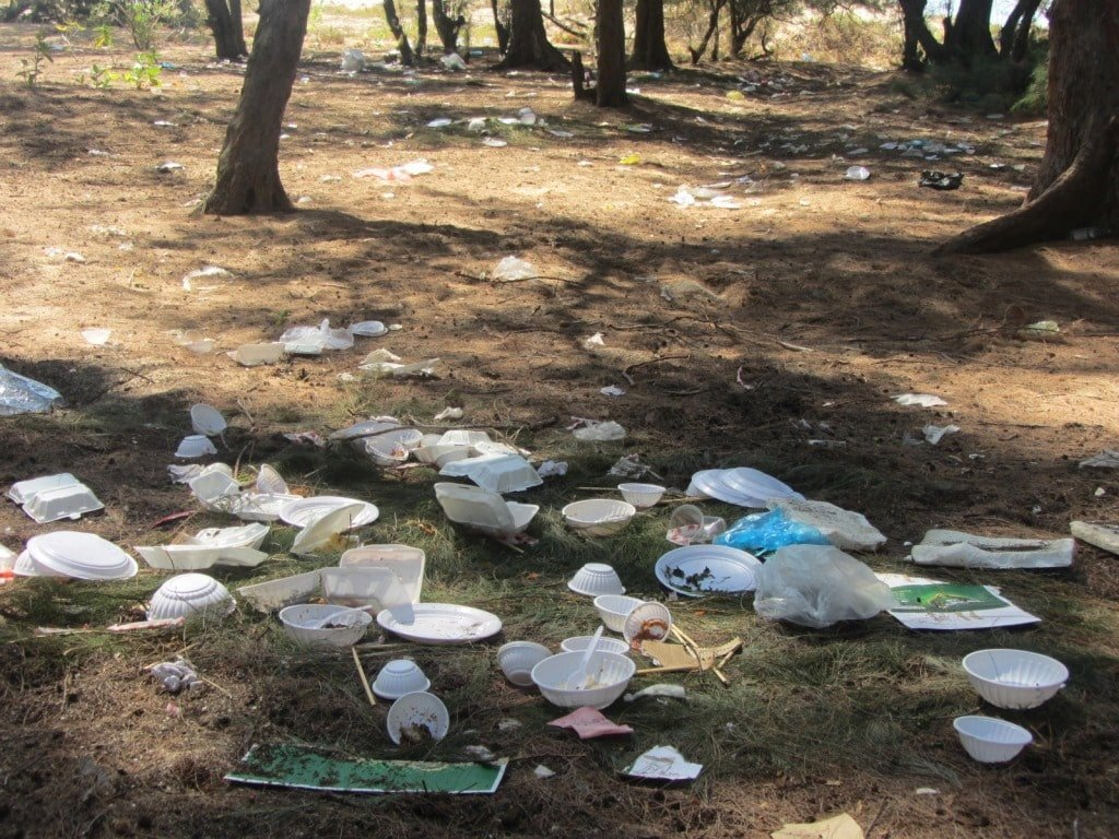 Trash in Vietnam's beauty spots