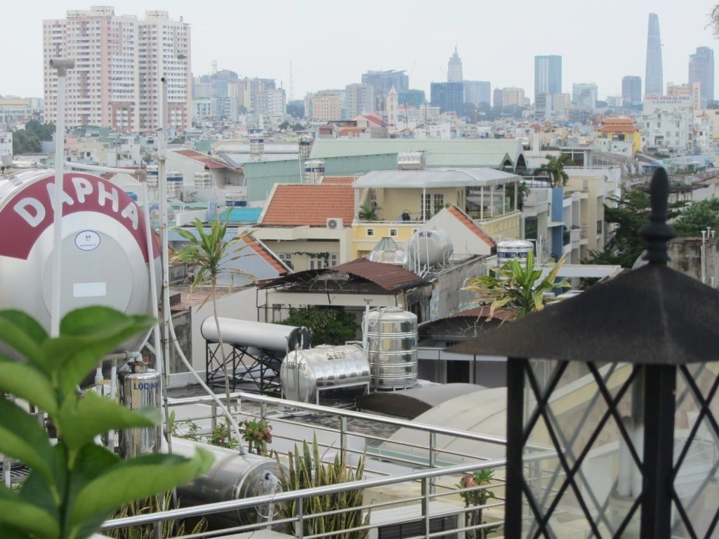 View from Ma Maison Boutique Hotel, Saigon