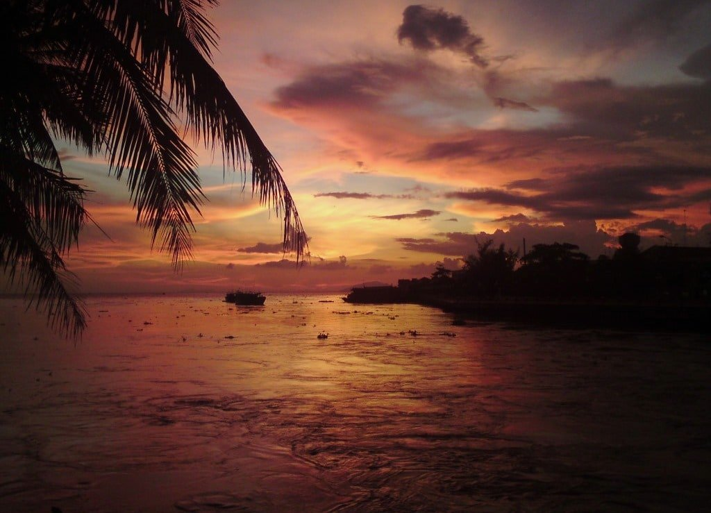 Rainy season sunset, Phu Quoc