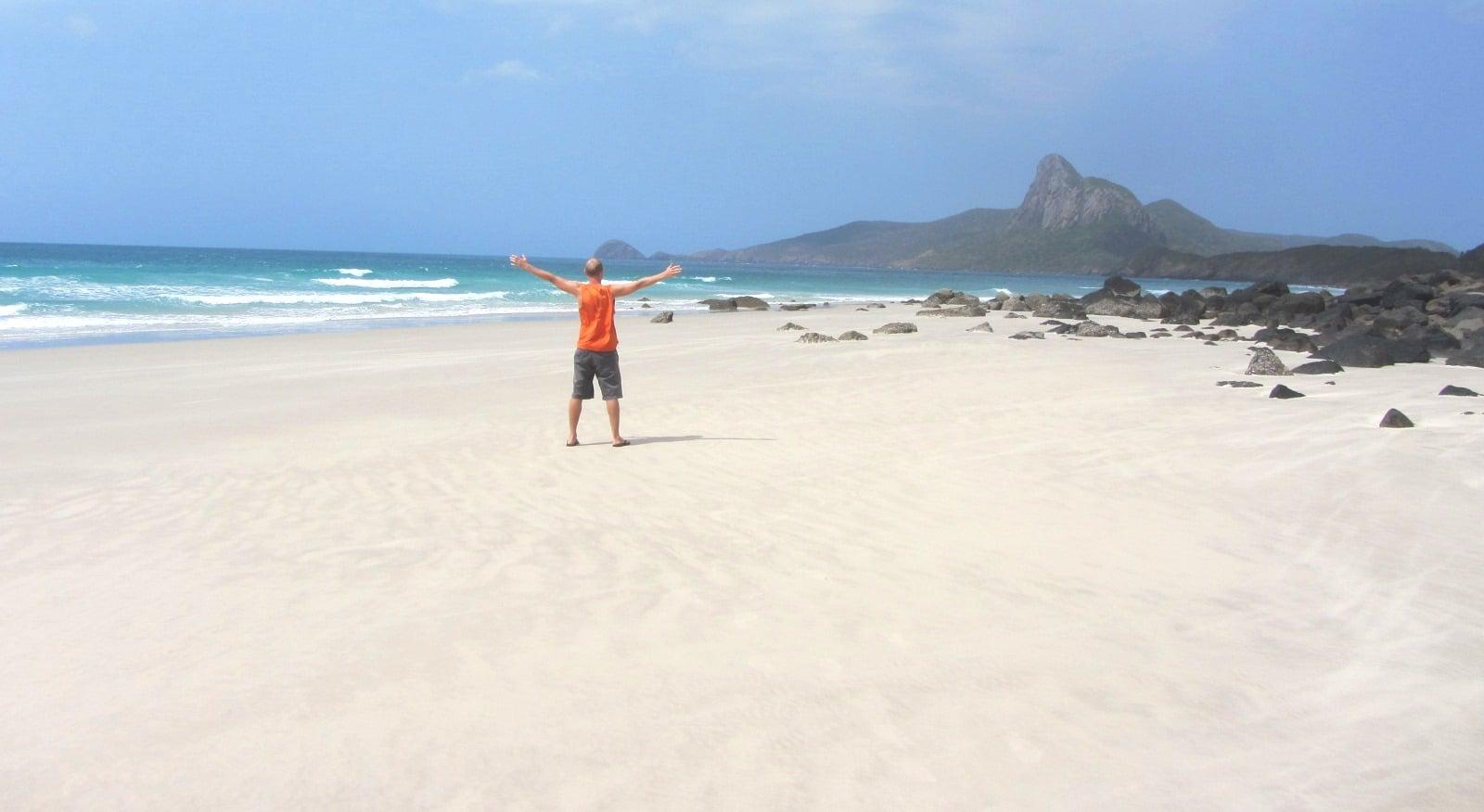 Nhat Beach, Con Dao