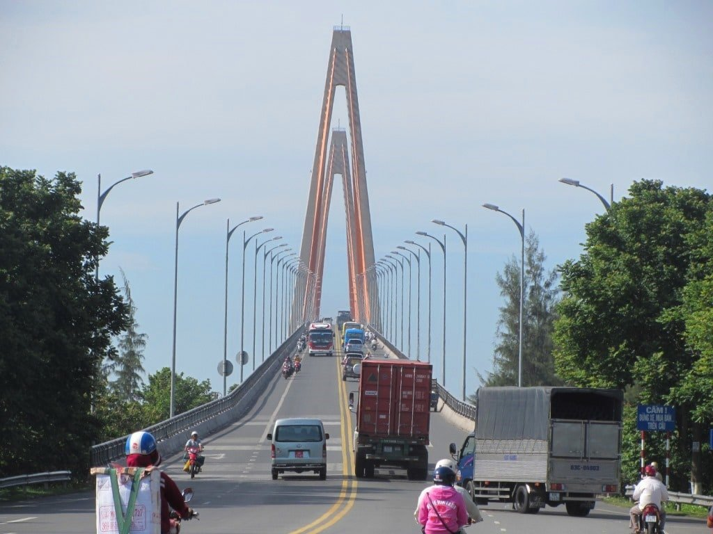 Bridges over the Mekong River