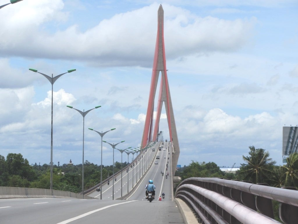 Can Tho Bridge, Mekong Delta