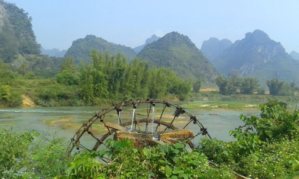 Cao Bang, northeast Vietnam