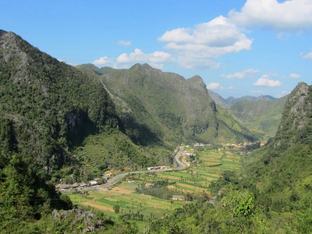 Ha Giang in the springtime, Vietnam