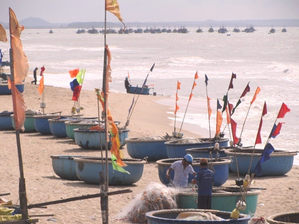 Phuoc Hai fishing village, Long Hai