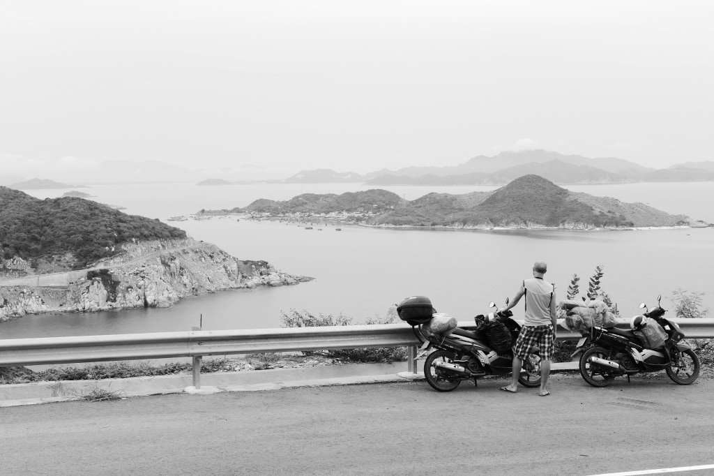 The Ninh Thuan motorbike loop, Vietnam