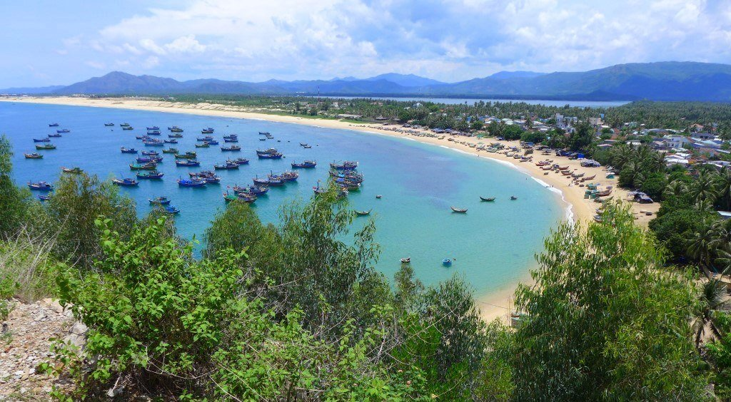 Beaches & coves near Quy Nhon, Vietnam