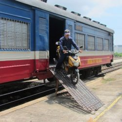 Motorbike on the Train: Saigon to Phan Thiet