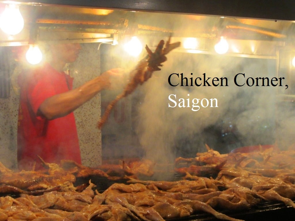 Grilled Chicken Corner, Saigon
