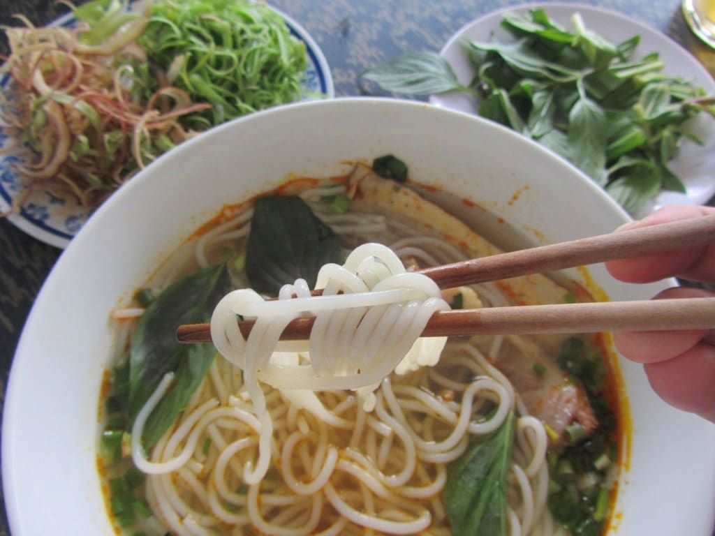 Why slurping noodles is good in Vietnam