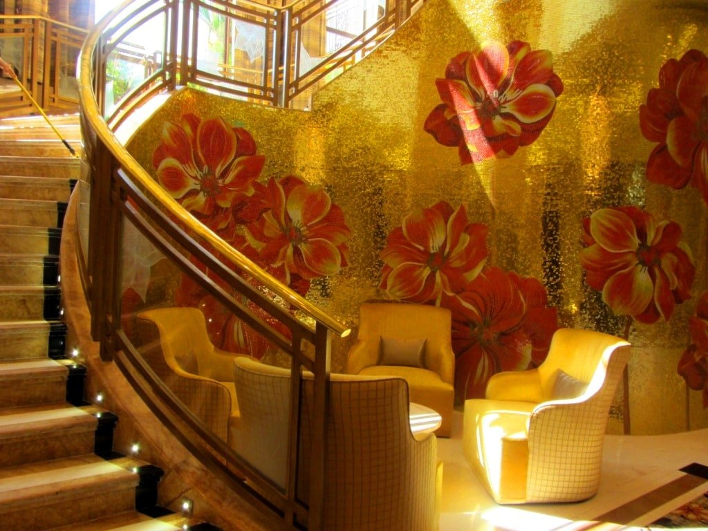 Glitzy decor, The Grand Ho Tram Casino & Resort